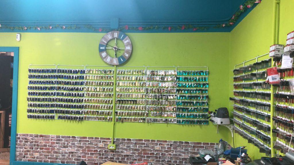 interior tienda San Isidro
